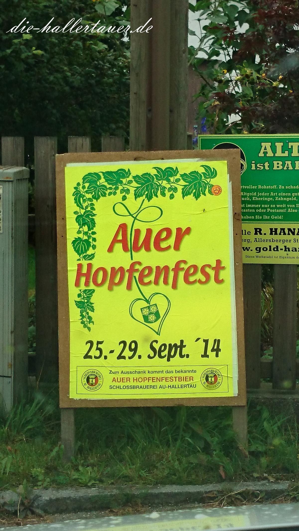 Auer Hopfenfest
