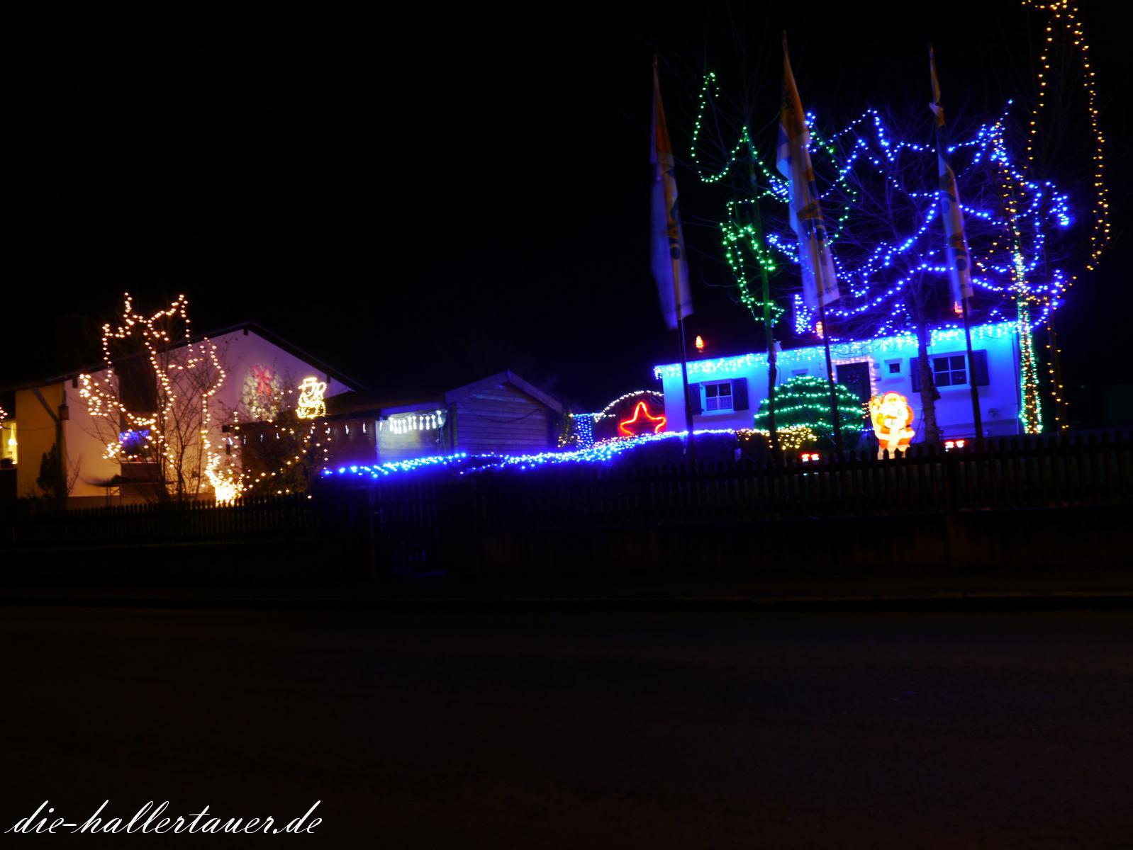 Autohaus Weihnachtsbeleuchtung