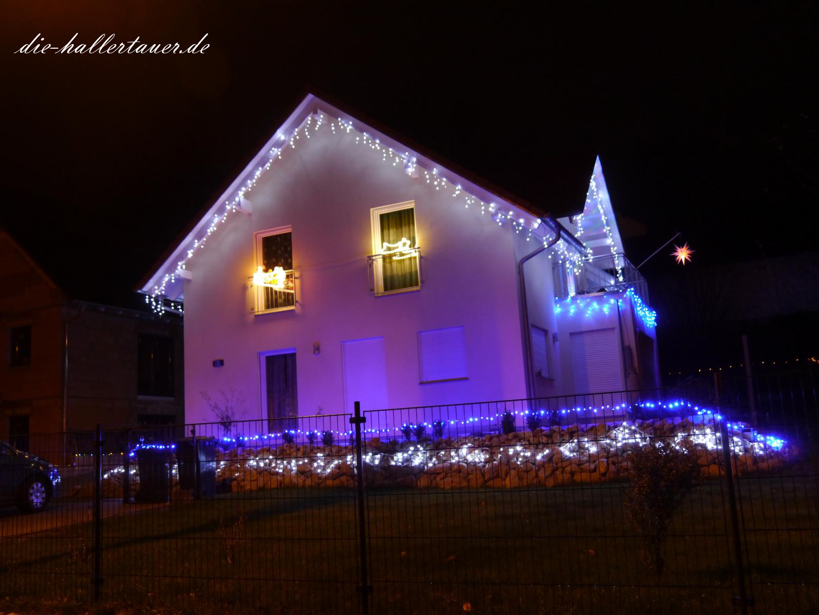 Weihnachtsbeleuchtung in Nandlstadt