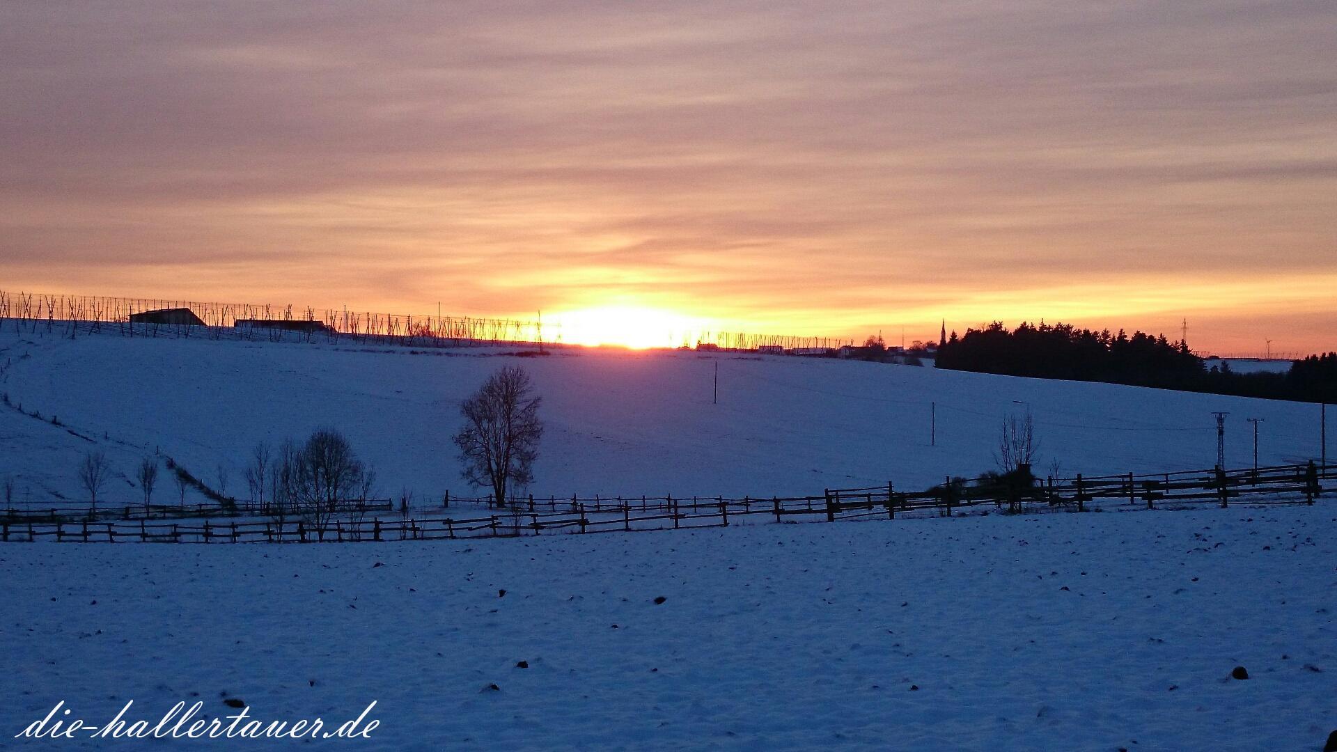 Sonnenuntergang Großgründling