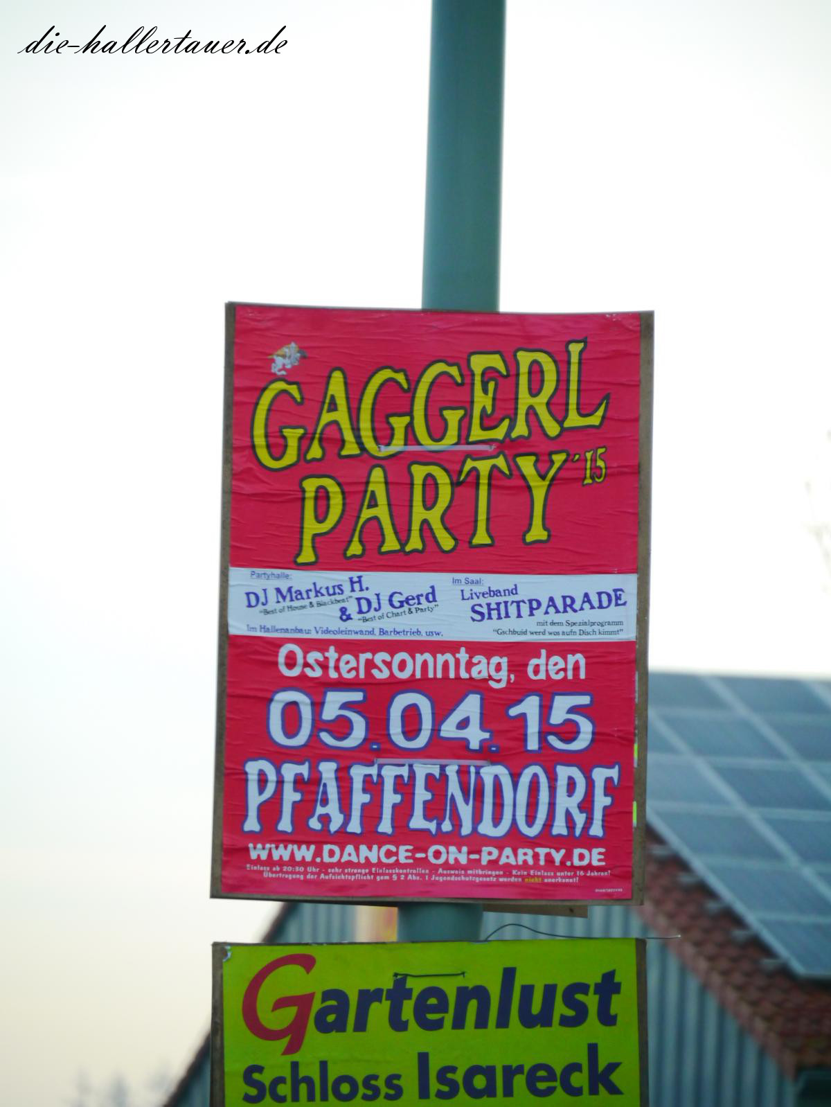 Gaggerl Party