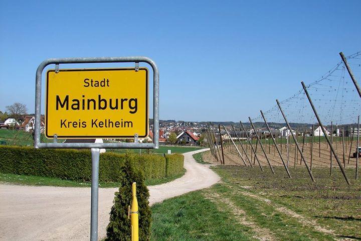 Blick auf Mainburg