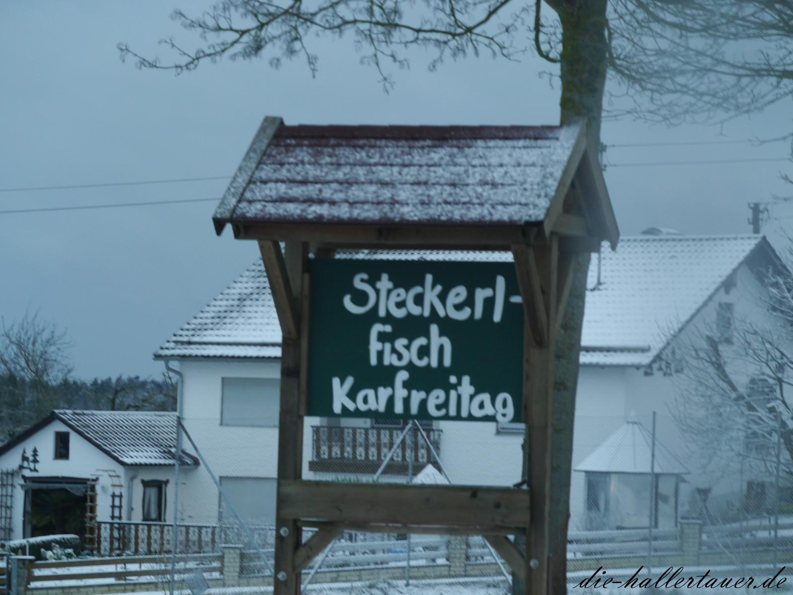 Steckerlfisch am Karfreitag