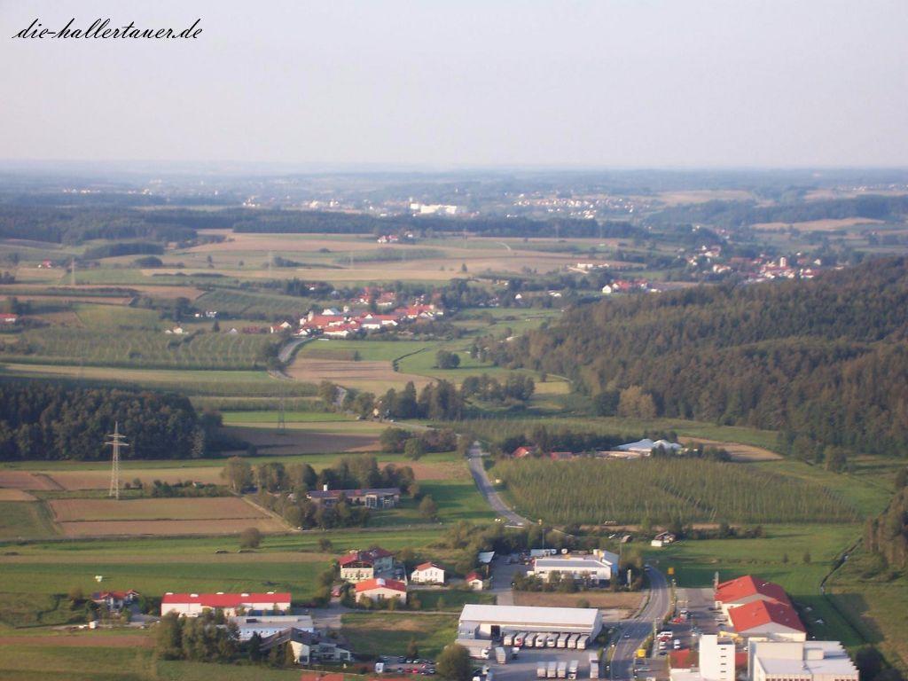 Au Enzelhausen Rudelzhausen von oben