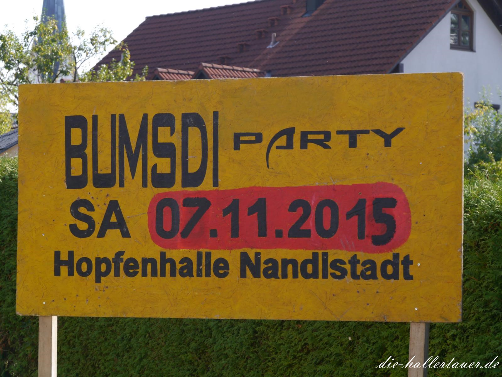 Bumsdi Party Nandlstadt