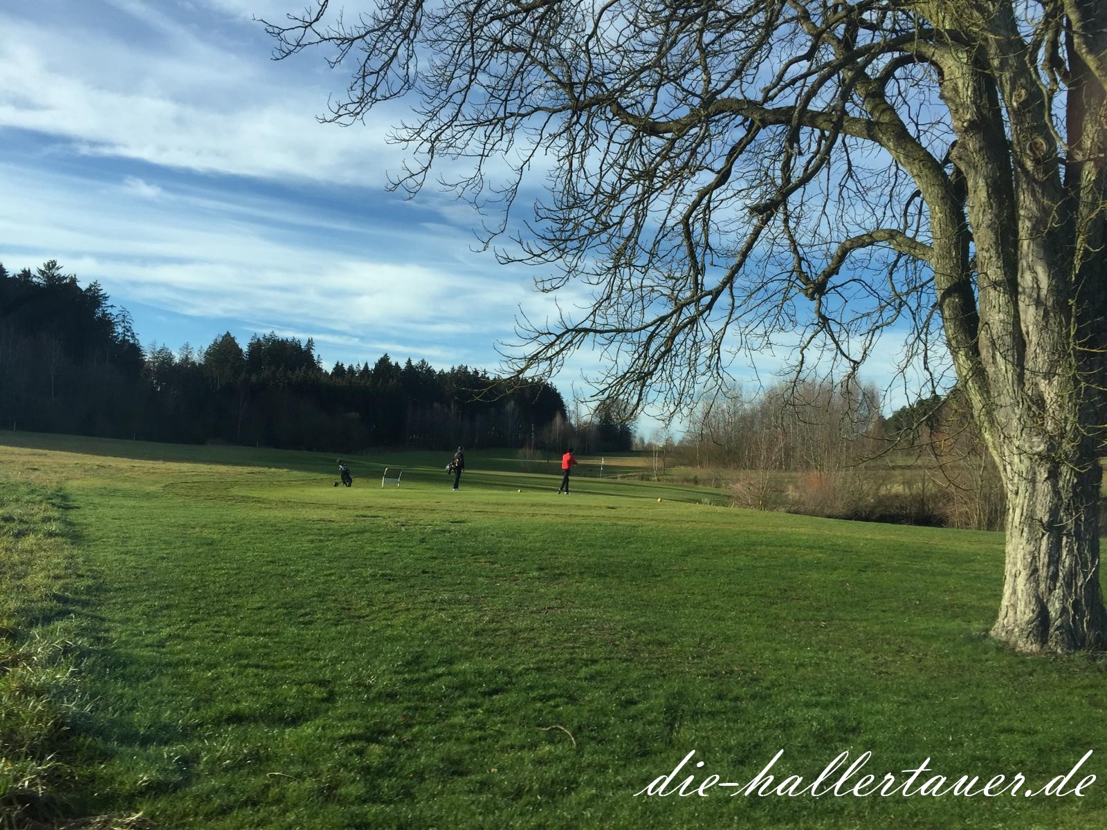 Golf im Winter