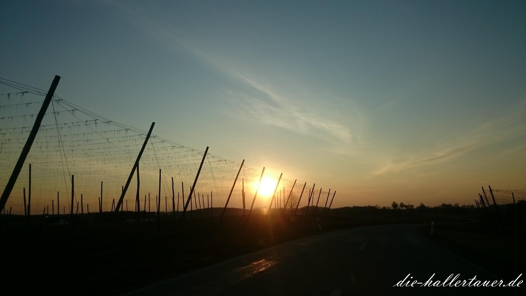 Sonnenuntergang Unterhaindlfing
